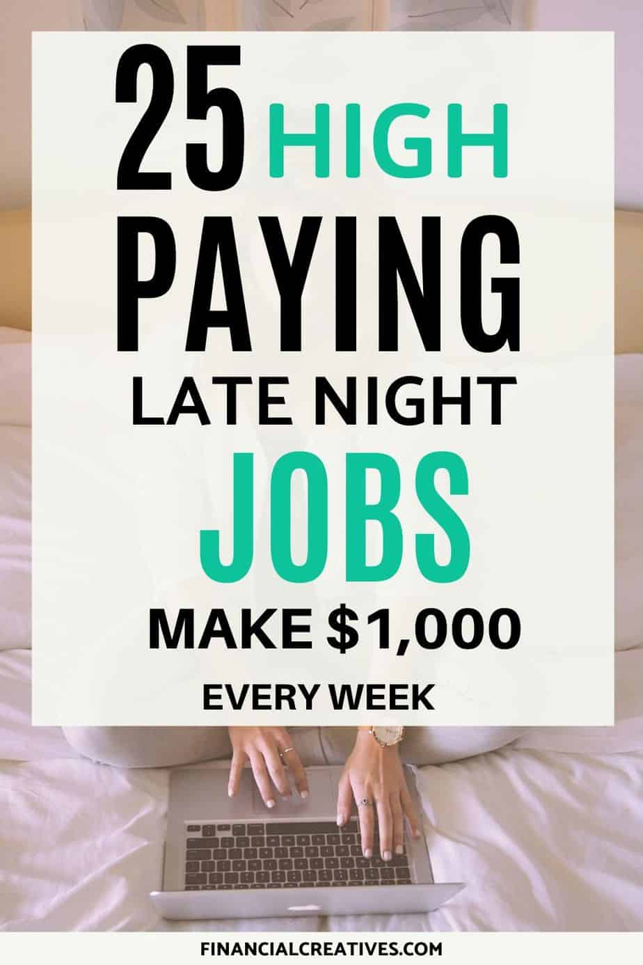 Flexible Part-Time Night Jobs from Home