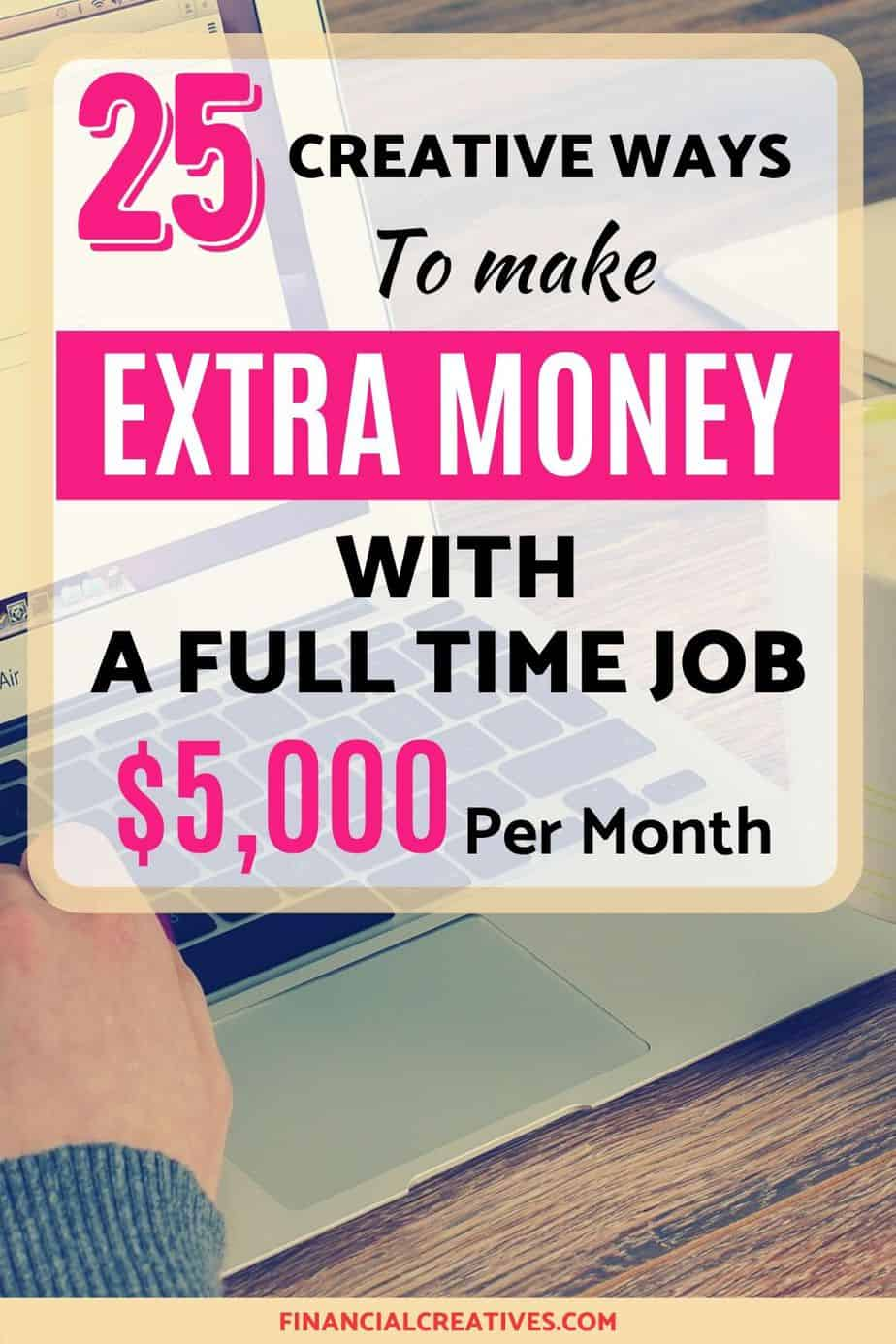 Make Money On The Side With A Full Time Job