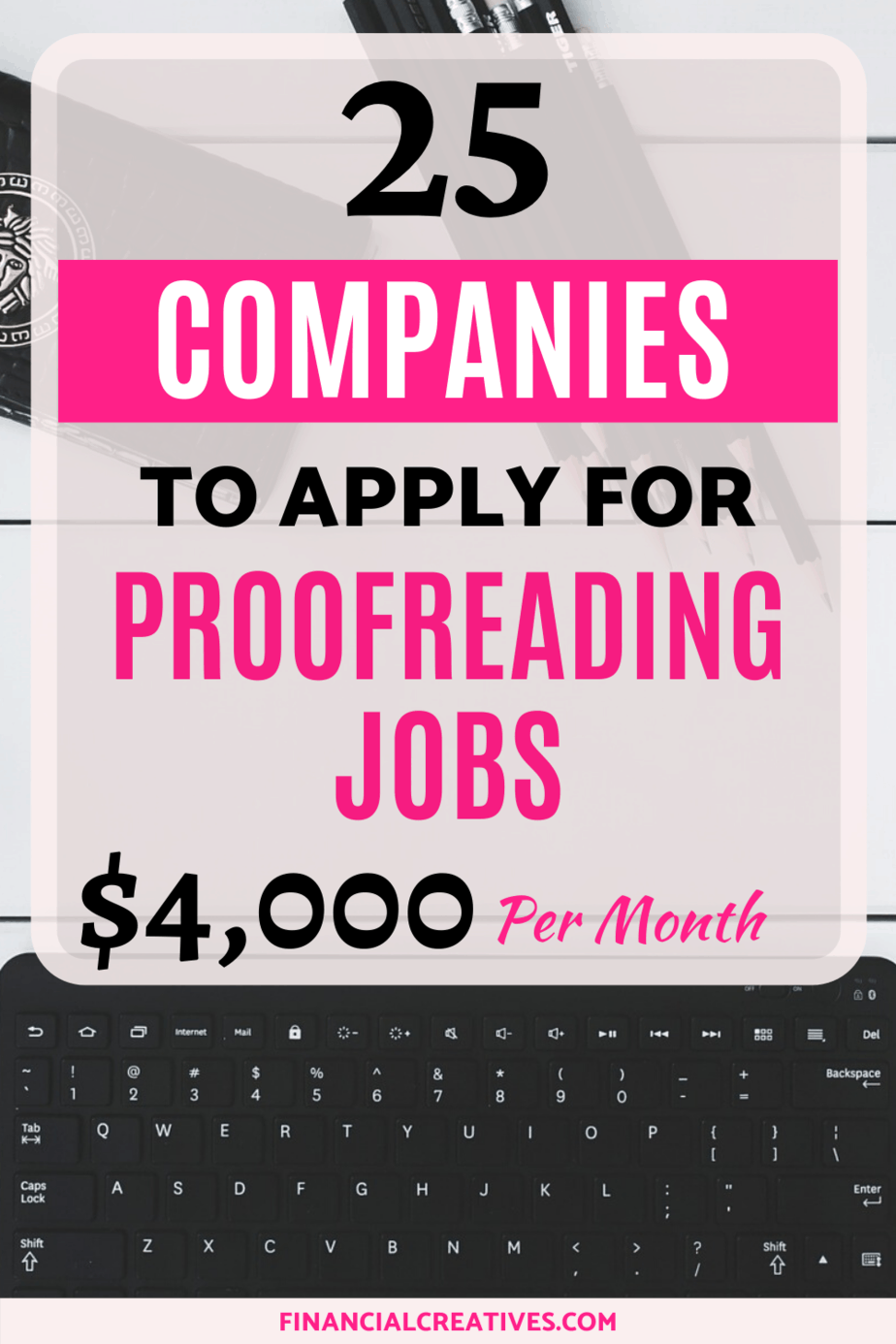 legitimate proofreading jobs online with no experience requir