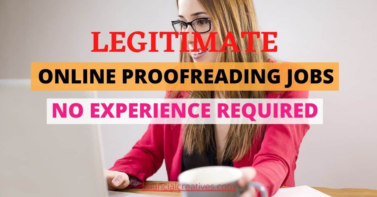 proofreading jobs online no experience