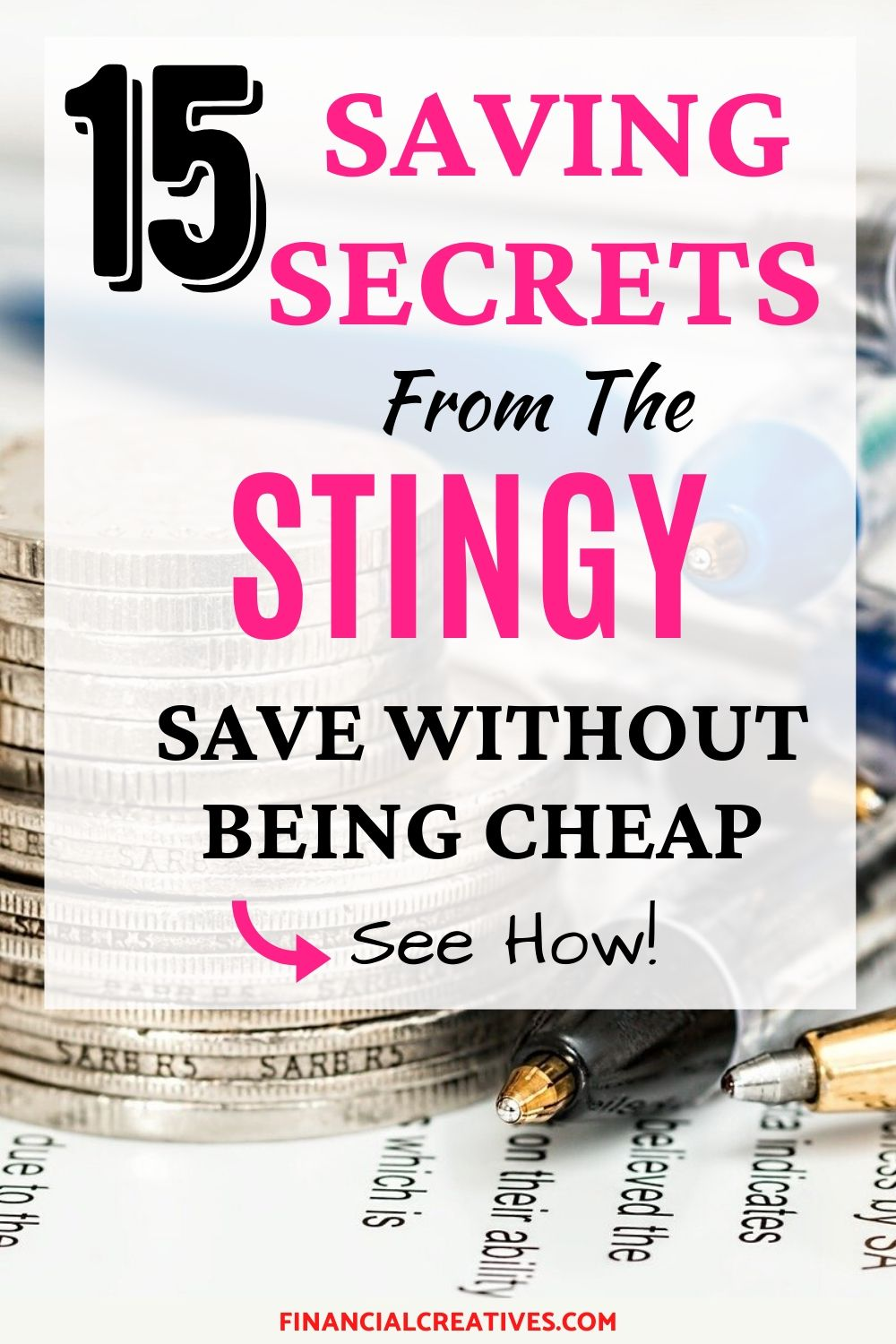 Ways live stingy without being cheap