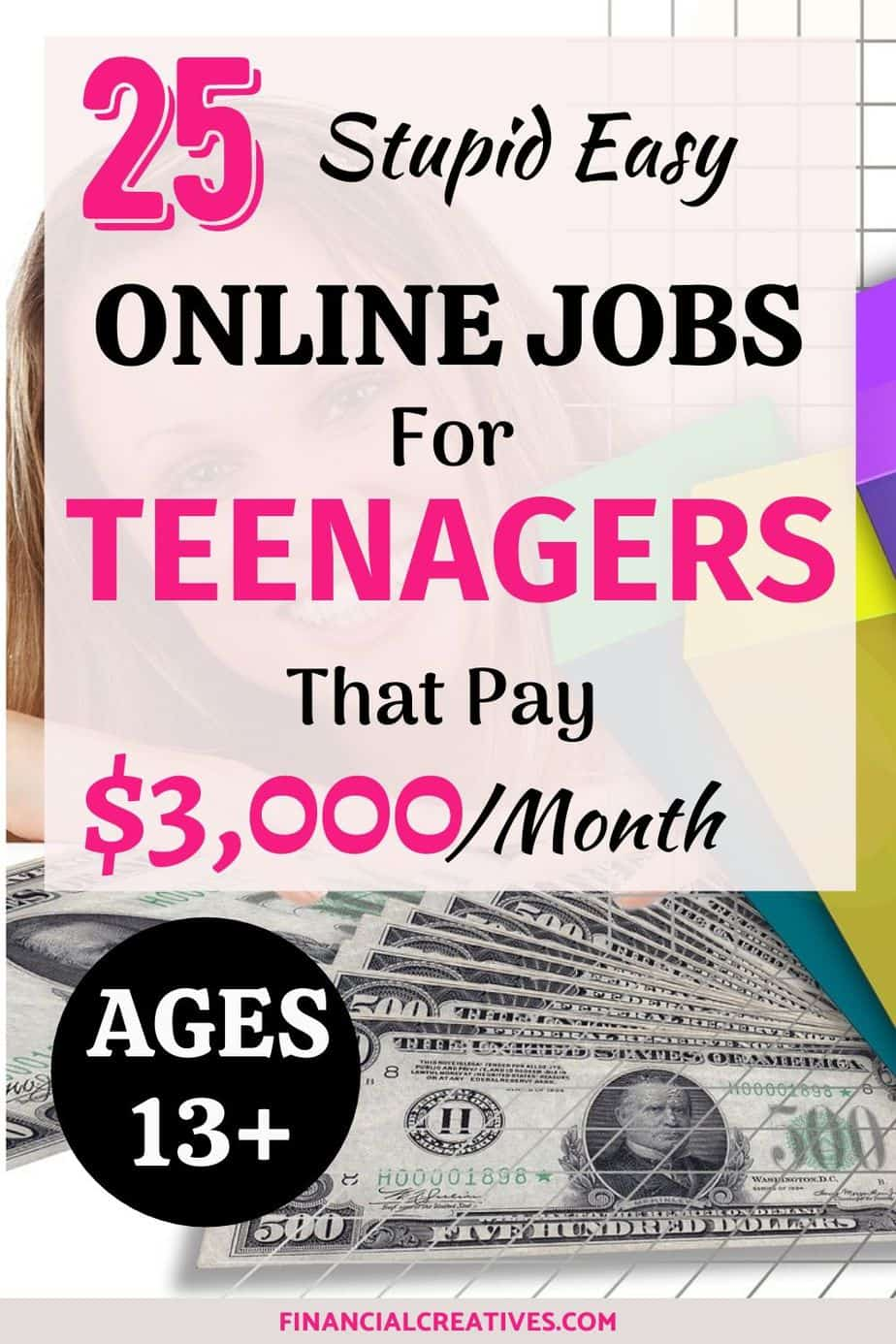 The best online jobs for teens and college students