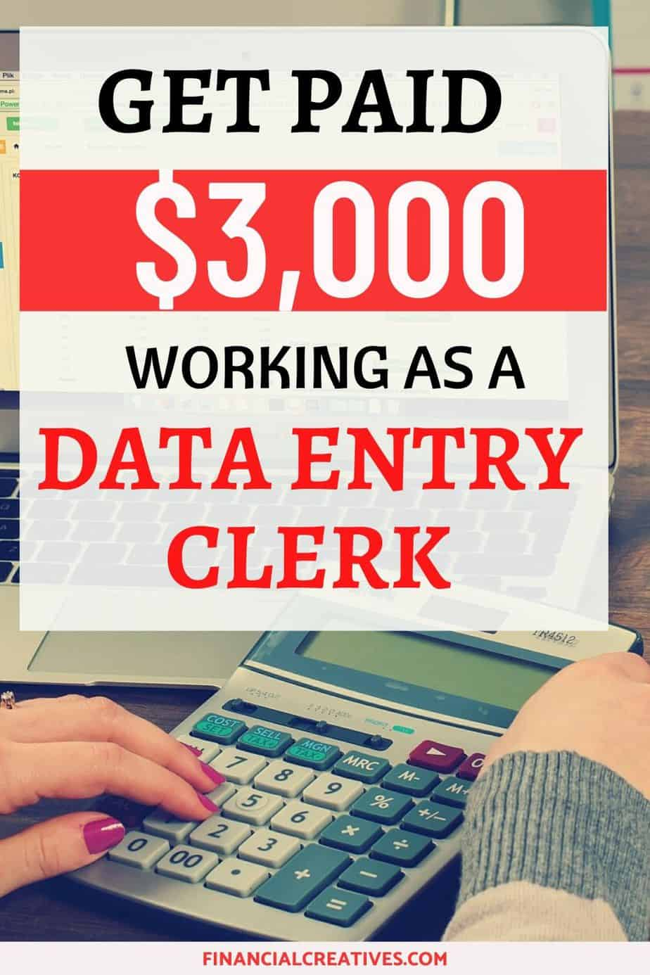 how to find data entry jobs working from home