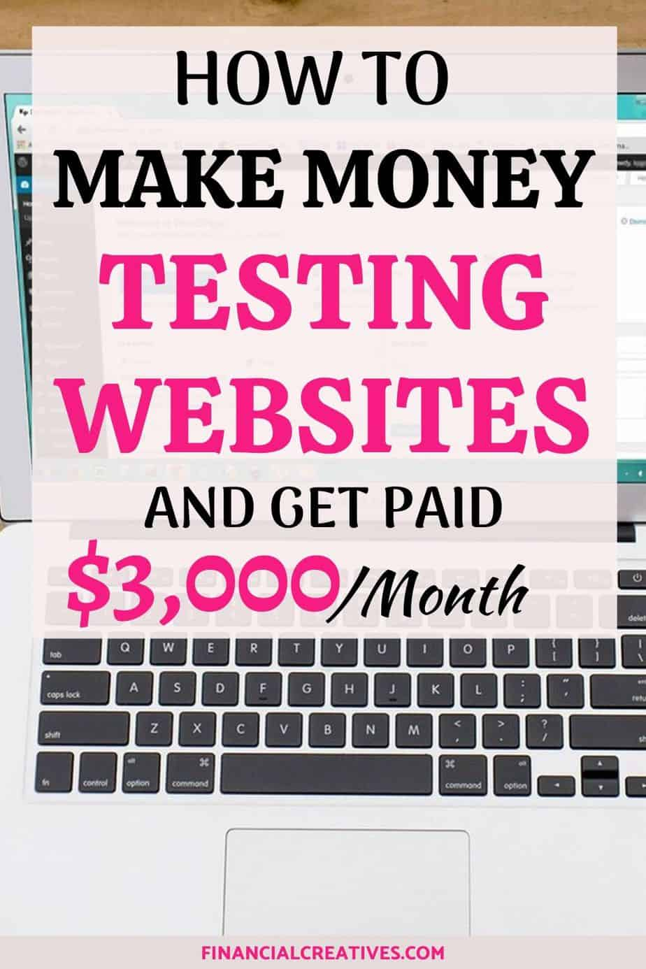 Testing websites with userlytics: make money testing websites