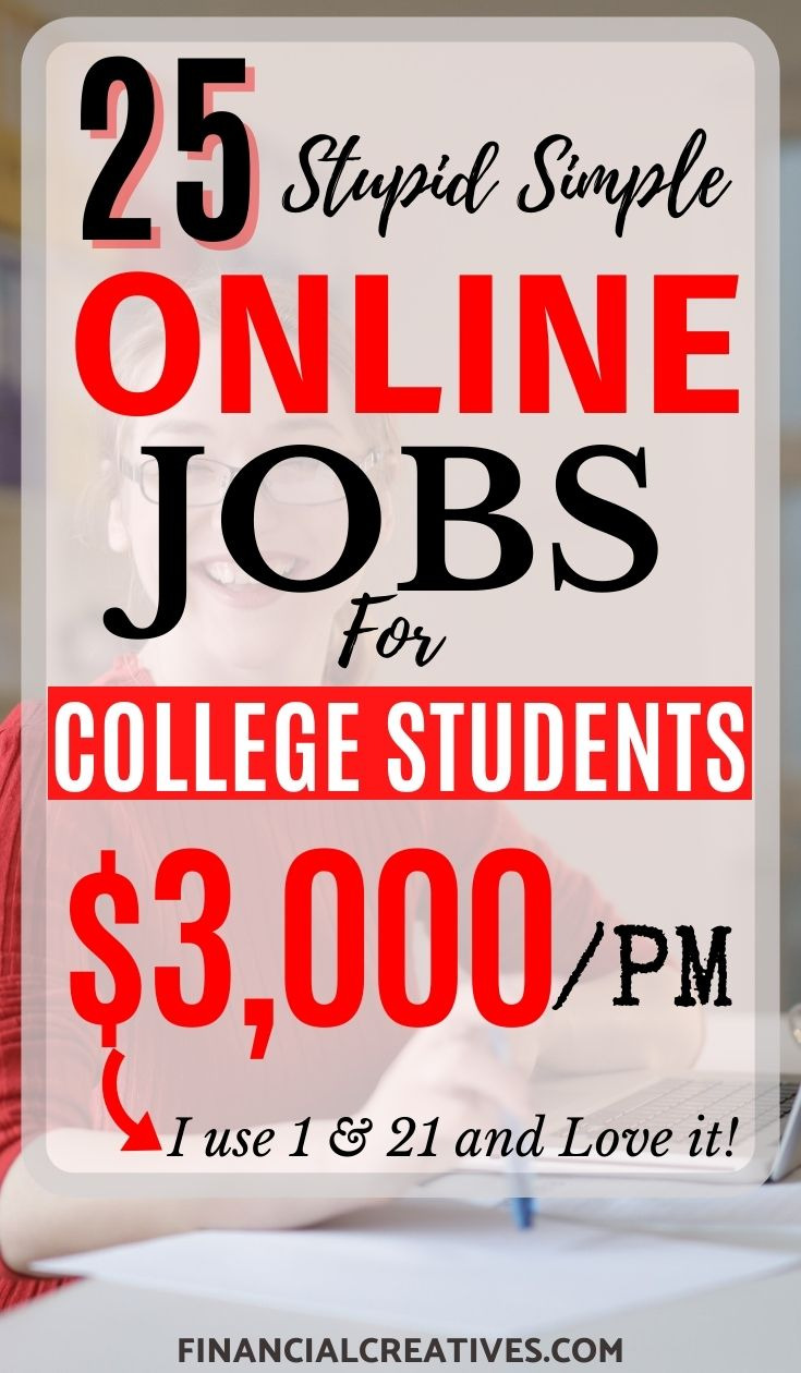 25 Best online Jobs for College Students with No Experience