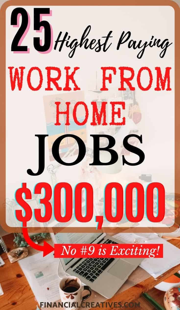 25 Highest Paying Work From Home Jobs